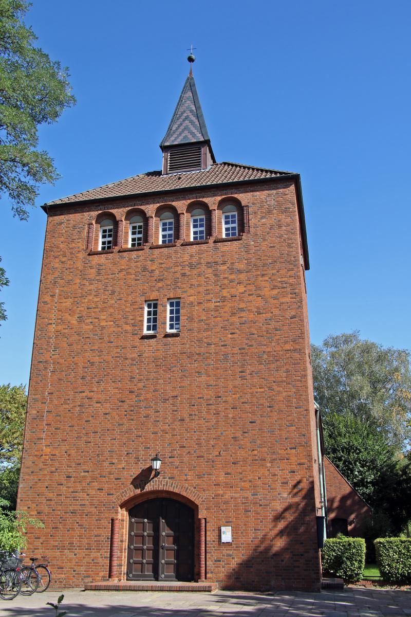 Hamburg Klein-Borstel Kirche Maria Magdalenen