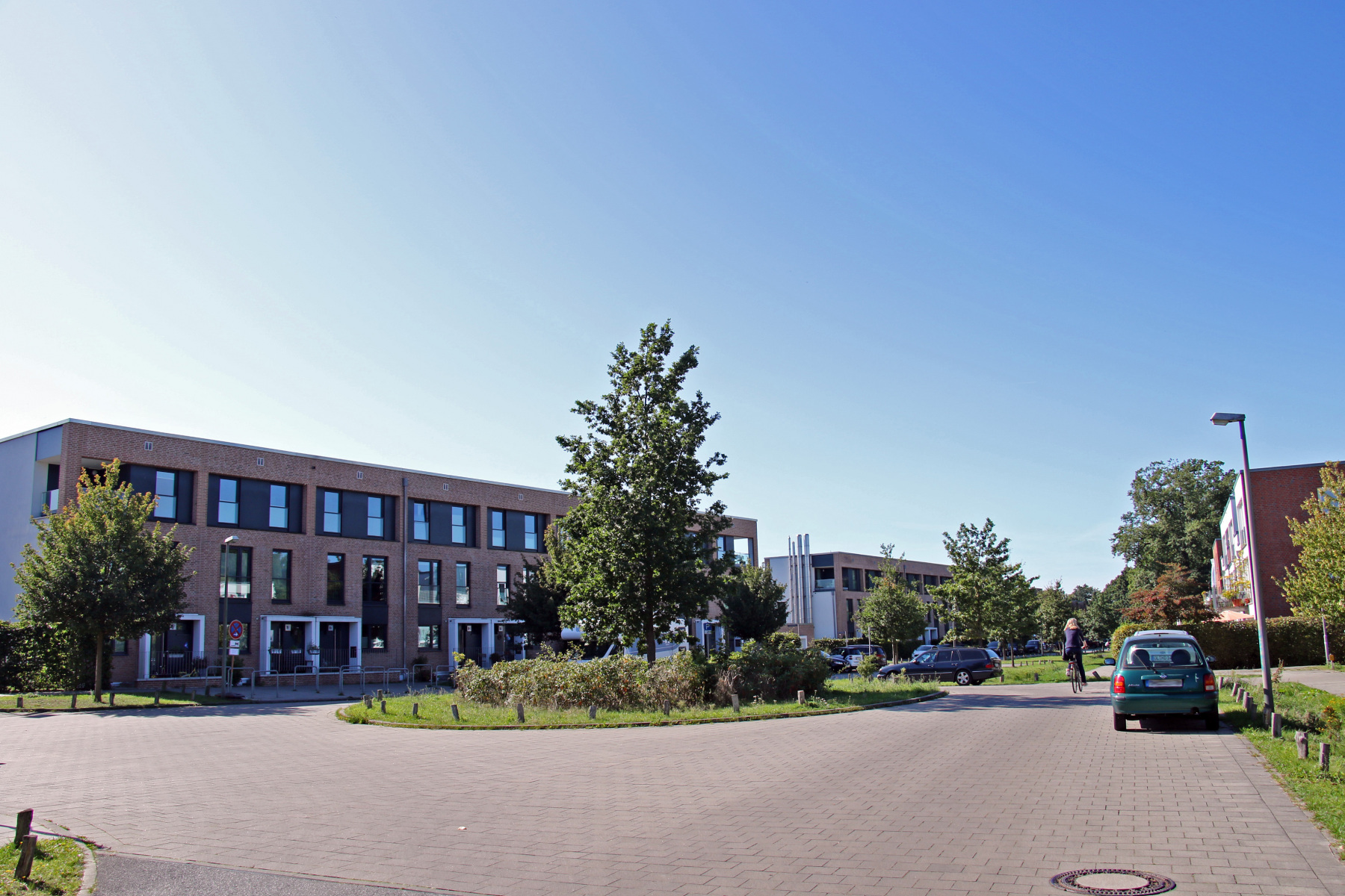 Hamburg Klein-Borstel Sodenkamp Kreisel