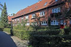 Hamburg Klein-Borstel Frank'sche Siedlung