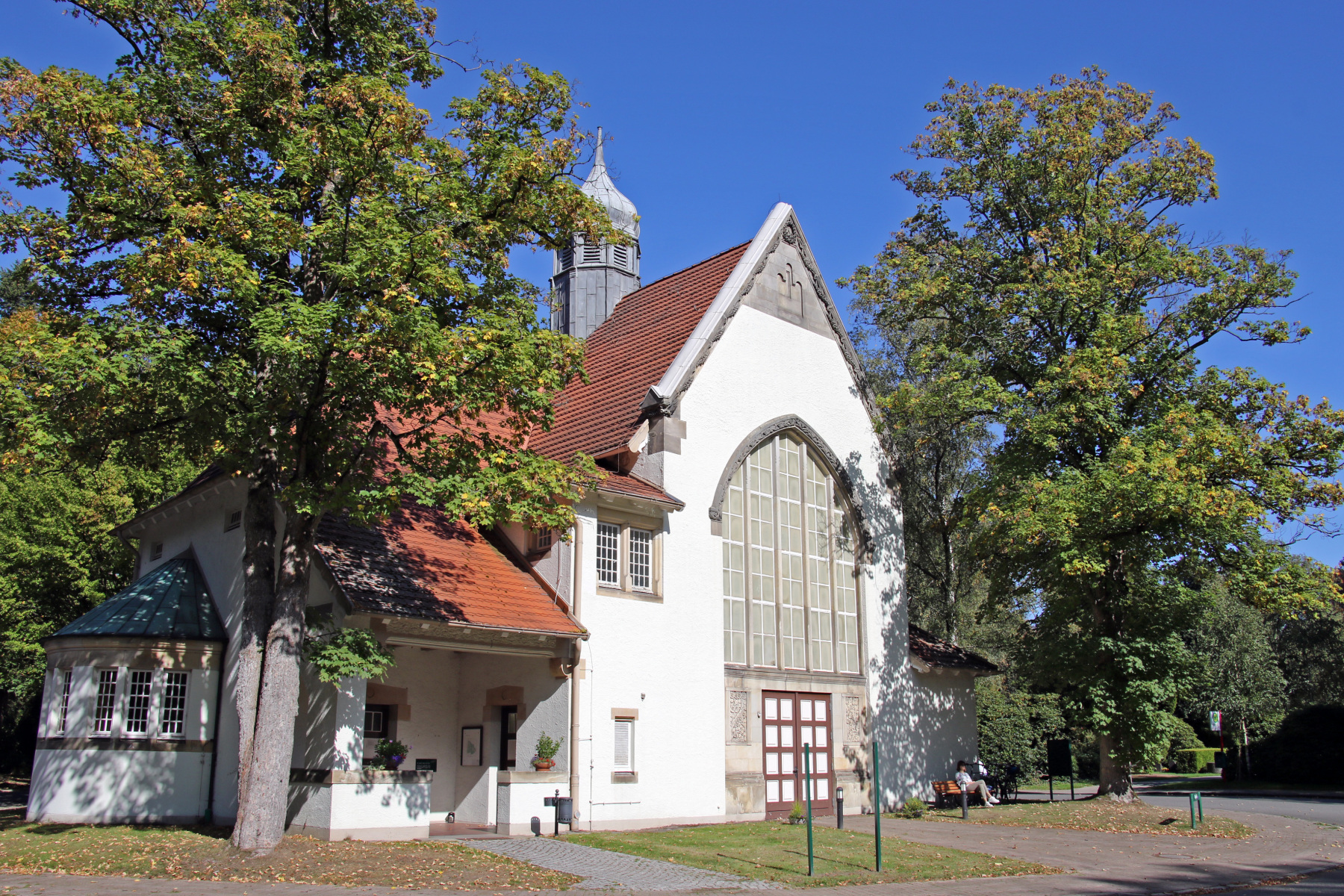 Hamburg Ohlsdorf Friedhof Kapelle