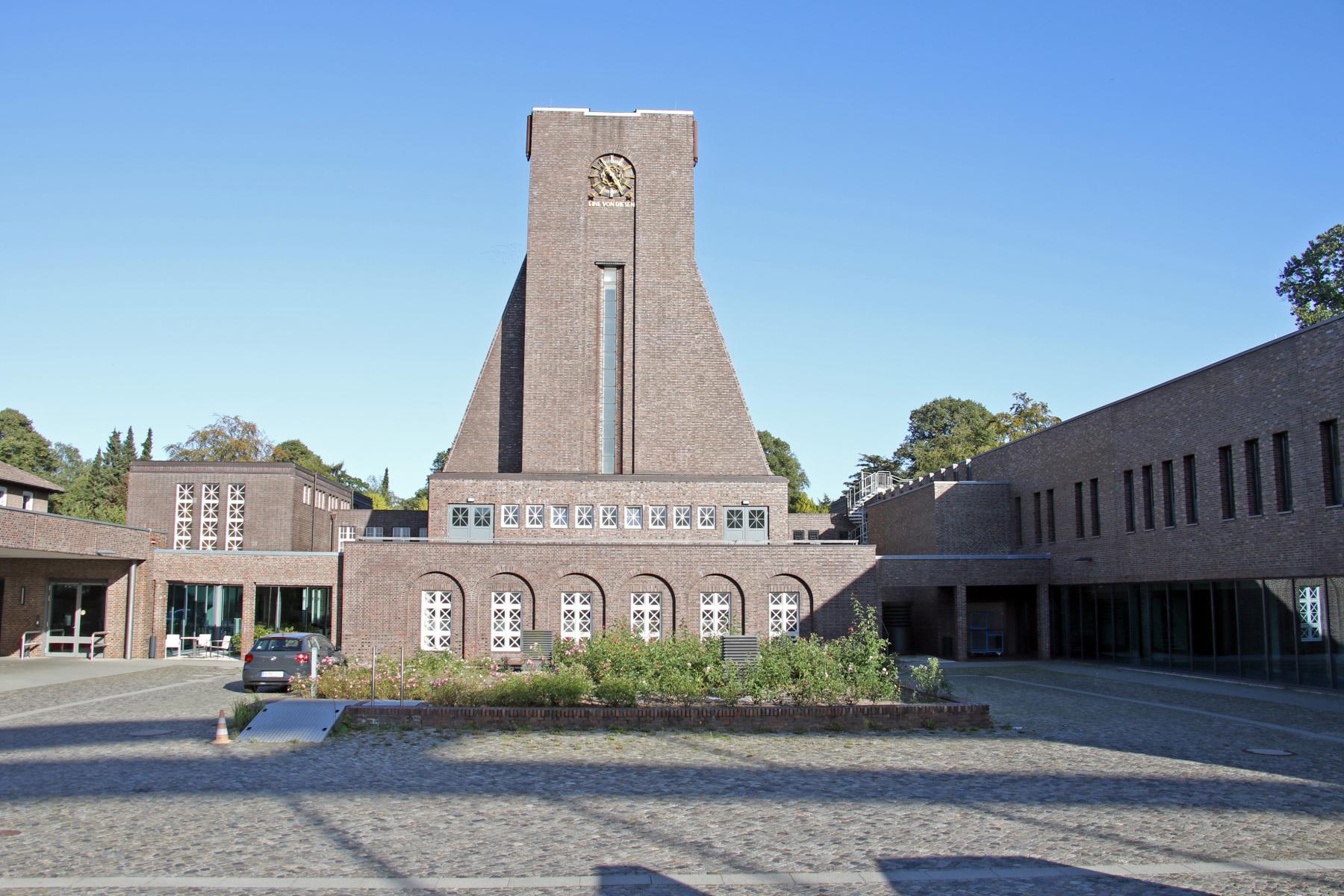 Hamburg Friedhof Ohlsdorf Krematorium