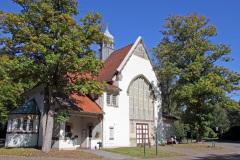 Hamburg Ohlsdorf Friedhof Kapelle