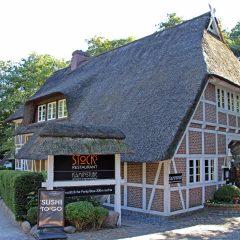 Hamburg-Poppenbuettel-Restaurant-Stocks