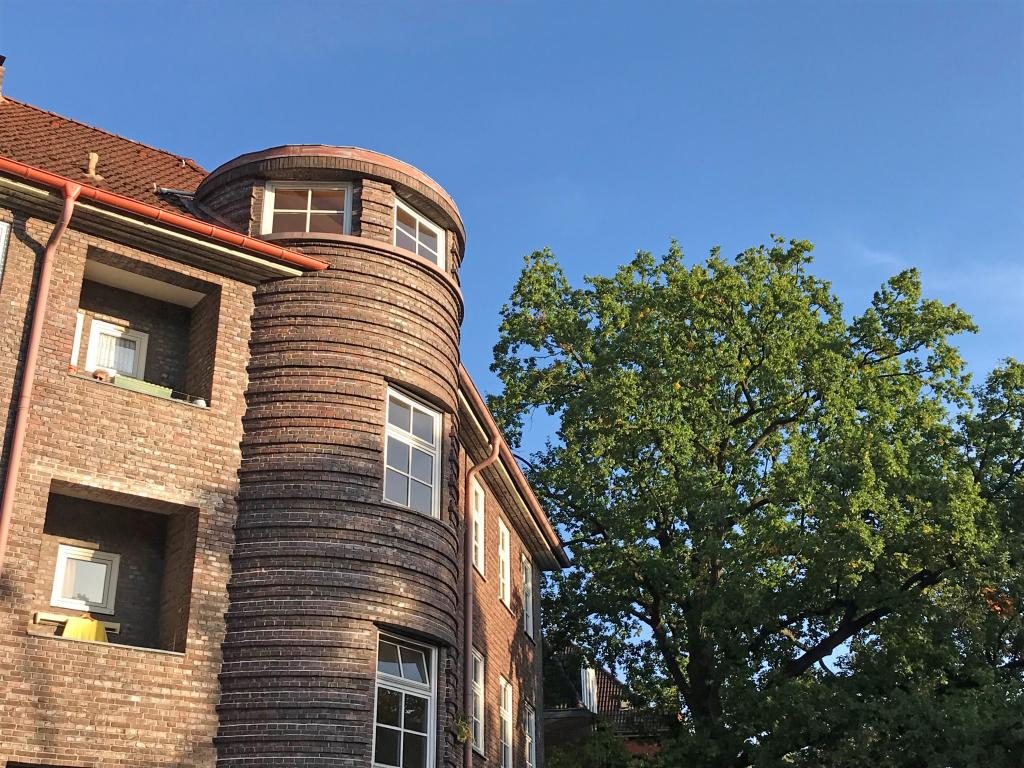 hamburg fuhlsbuettel rotklinker architektur