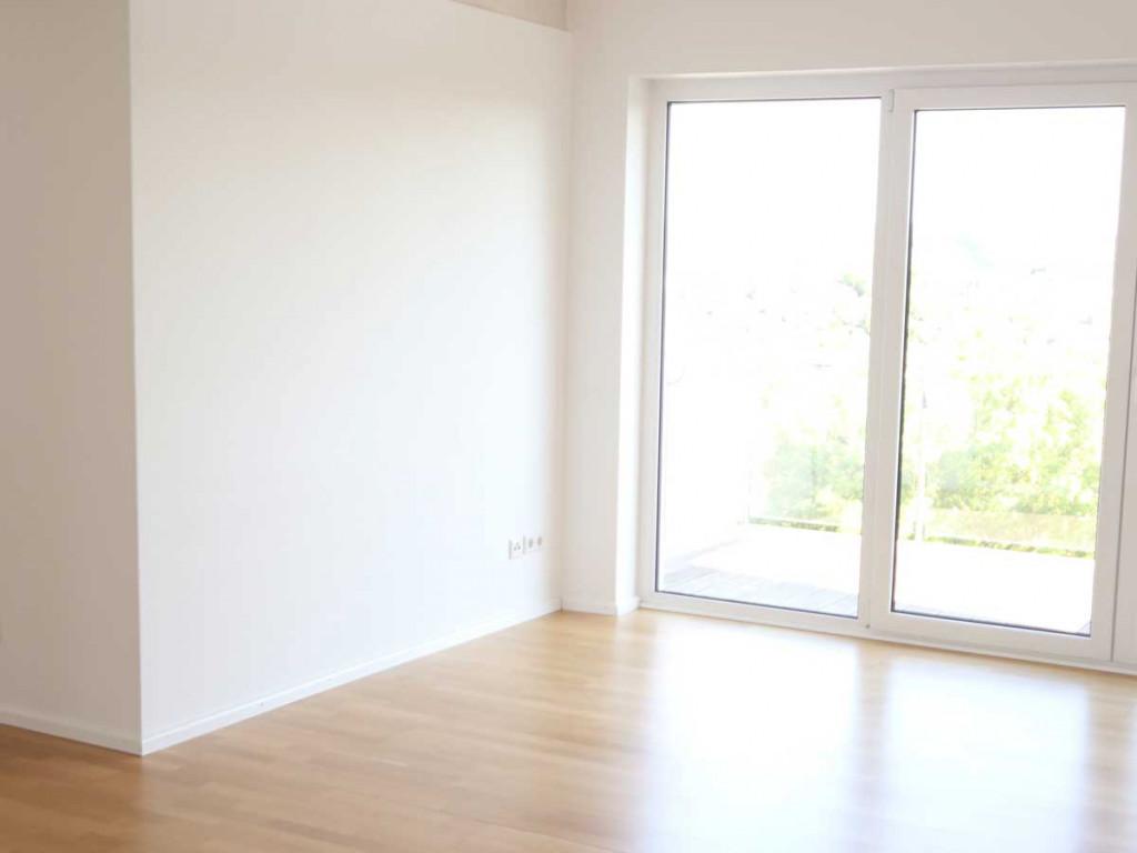 Immobilien-Foto Wohnung überbelichtet
