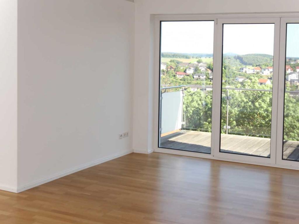 Immobilien-Foto Wohnung korrekt belichtet