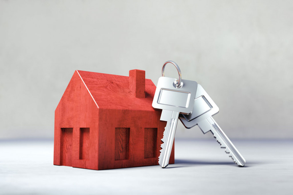 Haus zum Verkauf mit Schlüssel-