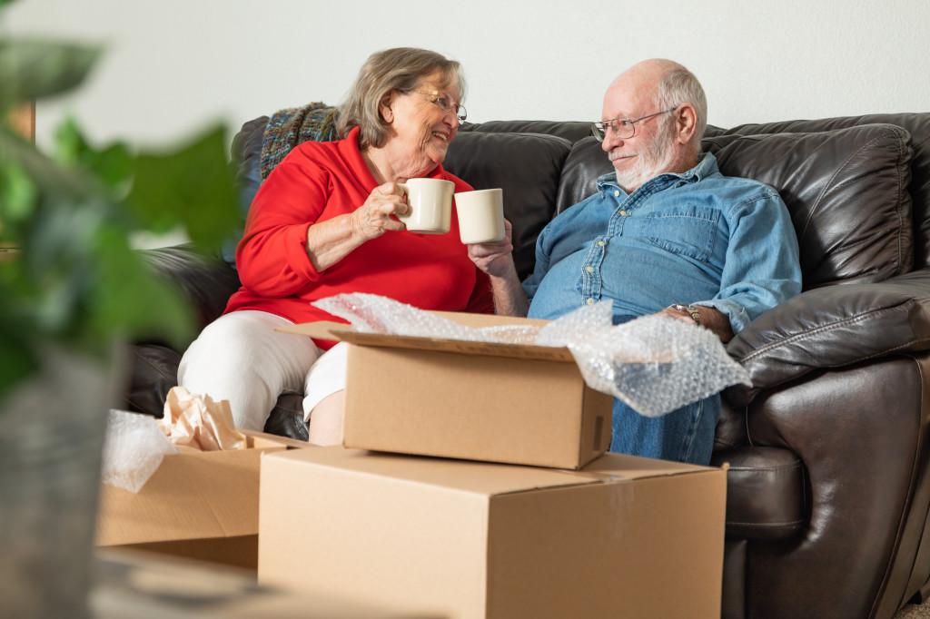 Umzug aus Altersgründen von eigenem Haus in seniorengerechte Wohnung