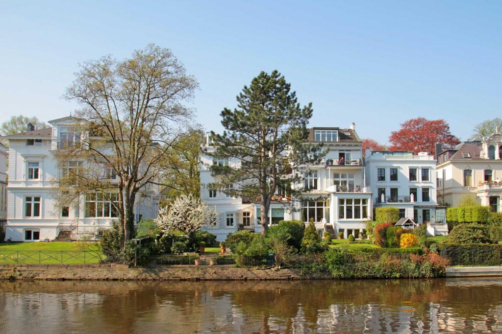 Villa an der Alster Hamburg Denkmalschutz Abschreibung berechnen