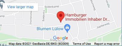 Google Maps Hamburger Immobilien Dr. Ingo Kohlschein
